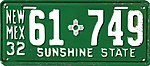 1932 New Mexico license plate.jpg