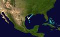 1943 Atlantic hurricane 6 track.png