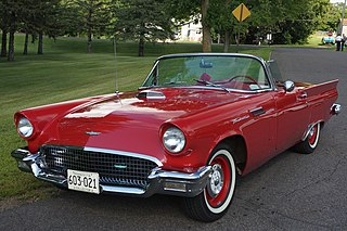 Ford Thunderbird American car model
