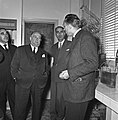 1957 Visite du ministre de l'agriculture Mr ANDRE DULIN au CNRZ-49-cliche Jean Joseph Weber.jpg