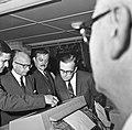 1966 visite de Mr Edgar Faure sénateur du Jura au CNRZ-14-cliche Jean Joseph Weber.jpg