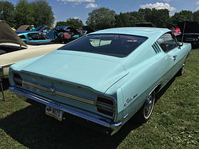 1969 Ford Fairlane 500 Sportsroof fastback at 2015 Macungie show 2of2.jpg