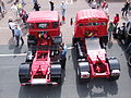 1970s tractor units, AEC Mandator (JKT 732L) & Foden (OBF 672J), 2009 HCVS London to Brighton run.jpg