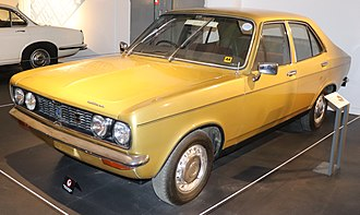 Coventry - A 1972 Hillman Avenger, produced in Coventry by Chrysler Competitions Department