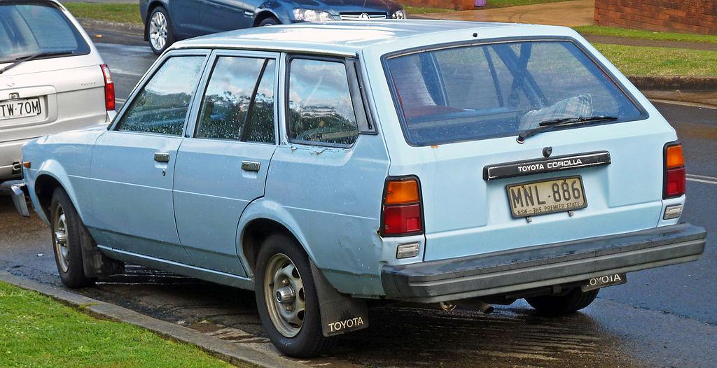 Toyota Corolla 2010 Type S >> File:1980-1983 Toyota Corolla (KE70) station wagon 02.jpg - Wikimedia Commons
