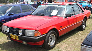 Ford Falcon (XD) - Falcon GL sedan, with S Pack