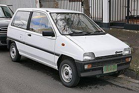 1988 Subaru M70 Super Deluxe 3-door hatchback (2015-07-24) 01.jpg