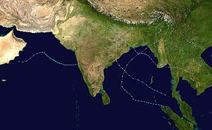 1995年北印度洋气旋季