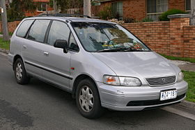 1996 Honda Odyssey Van (2015 08 07) 01