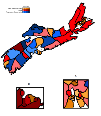 Nova Scotia general election, 1998 - Image: 1998 Nova Scotia Election