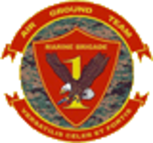 1st Marine Expeditionary Brigade (United States) - 1st MEB insignia