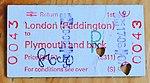 1st Return, London Paddington to Plymouth.JPG