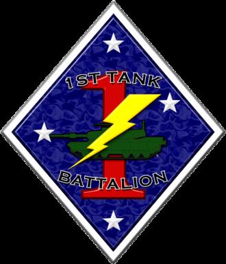 1st Tank Battalion - 1st Tank Battalion insignia