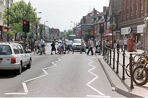 Orpington - Orpington High Street, looking south