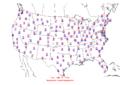 2006-01-31 Max-min Temperature Map NOAA.png