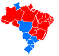 2006 Brazilian election per state final run off.PNG