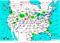 2007-10-06 Surface Weather Map NOAA.png