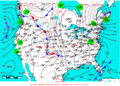 2009-02-23 Surface Weather Map NOAA.png