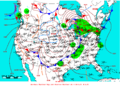 2009-05-16 Surface Weather Map NOAA.png