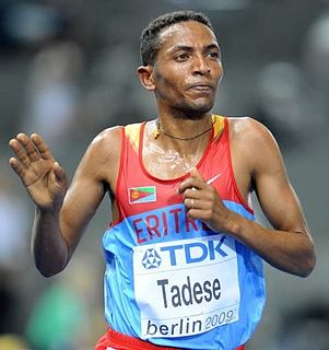 Eritrean long-distance runner and Olympic medallist