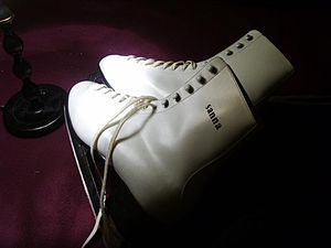 Ice skates. Found in a dumpster. Sweden. Categ...
