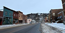 Much of downtown Lanesboro is part of the National Register of Historic Places