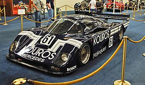 Mike Thackwell - The Sauber C8 in which Thackwell and co-driver Henri Pescarolo won the 1000km Nürburgring in 1986.