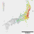 2011 Tohoku earthquake intensity.png