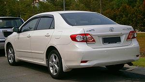 Toyota Corolla (E140) - Corolla Altis 1.8 E (Malaysia; facelift)