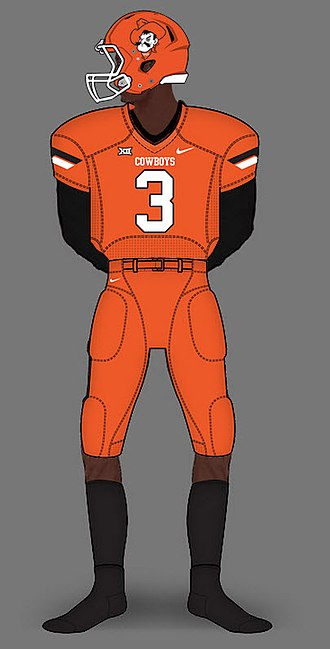 Oklahoma State Cowboys football - Image: 2012 All Orange