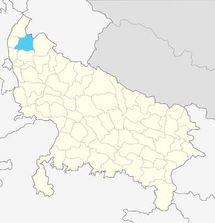 Muzaffarnagar district District of Uttar Pradesh in India