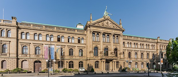 The Museum Koenig is Bonn's natural history museum.