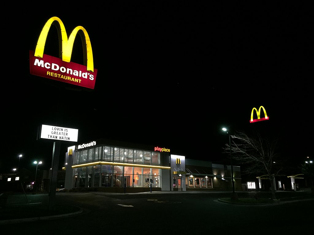 225 45 15 >> File:2015-04-07 03 15 45 McDonald's restaurant at night ...