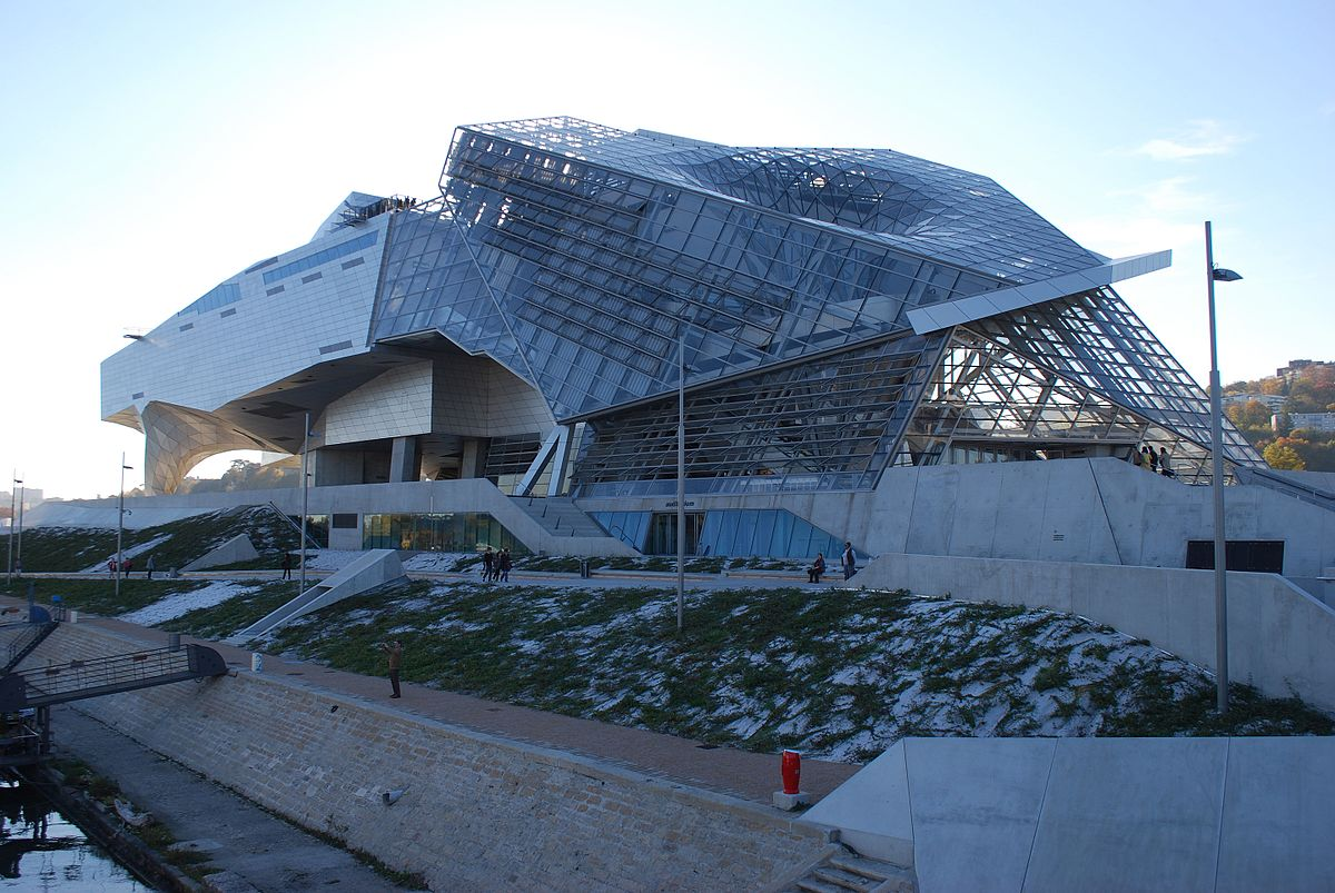 Mus e des confluences wikip dia for Architecture lyon