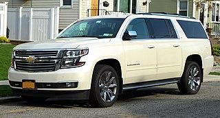 Chevrolet Suburban Motor vehicle