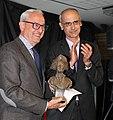 2016 11 10 Antoni Martí, cap govern Andorra entrega premi T i Rossell a Josep Maria Ràfols.jpg