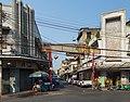 2016 Bangkok, Dystrykt Samphanthawong, Wejście na ulicę Charoen Krung 10 (01).jpg