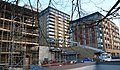 2016 Woolwich, Crossrail Station construction site 01.jpg