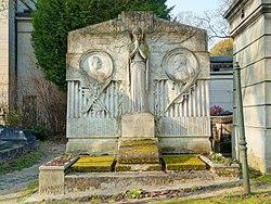 Raoul Verlet: Tomb of Max Bérard and Henri Gervex
