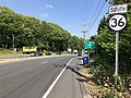 2018-05-25 15 52 33 View south along New Jersey State Route 36 (Navesink Avenue) at Monmouth County Route 8 (Ocean Boulevard) on the border of Middletown Township and Highlands in Monmouth County, New Jersey.jpg