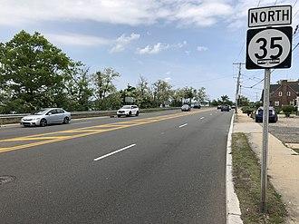 Belmar, New Jersey - Route 35 in Belmar