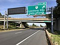 2018-10-19 15 31 44 View east along Interstate 66 at Exit 66 (Virginia State Route 7-Leesburg Pike, Falls Church) in Idylwood, Fairfax County, Virginia.jpg