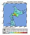 2018 Iburi earthquake intensity map.jpg