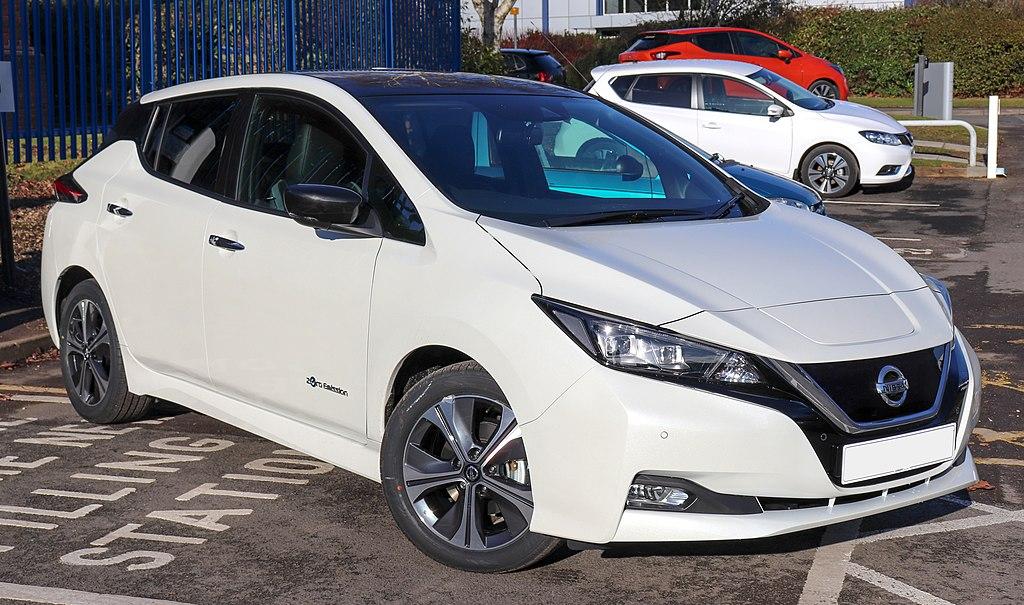 Nissan Leaf - один из самых популярных электромобилей в мире. Vauxford / CC BY-SA