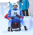 2019-01-25 Doubles Sprint Qualification at FIL World Luge Championships 2019 by Sandro Halank–217.jpg