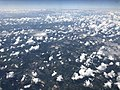 2019-07-19 14 28 40 View northwest across Desoto County, Mississippi towards Memphis, Tennessee from an airplane traveling from Washington Dulles International Airport to George Bush Intercontinental Airport.jpg