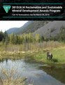 2019 BLM reclamation and sustainable mineral development awards program- call for nominations due by March 29, 2019 (IA 2019blmreclamati00unit).pdf