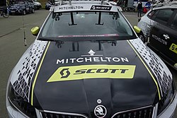 2019 BLT Sittard car Mitchelton-Scott.jpg