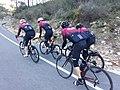 2020-02-22 Ciclistes camí de Castell de Castells 01.jpg