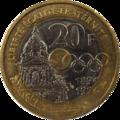 20 francs Coubertin revers.png